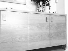 #livingroom #wood #oak #design #interiordesign #home #georgjensen #philippi #milkfloorlamp Woods, Cabinet, Living Room, Storage, Furniture, Design, Home Decor, Clothes Stand, Purse Storage