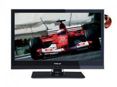 """Finlux 19"""" LED Smart-TV m/DVD, 12V. Trippel tuner   Satelittservice tilbyr bla. HDTV, DVD, hjemmekino, parabol, data, satelittutstyr Led, Smart Tv, Flat Screen, Photo Illustration, Flat Screen Display, Flatscreen, Dish Display"""