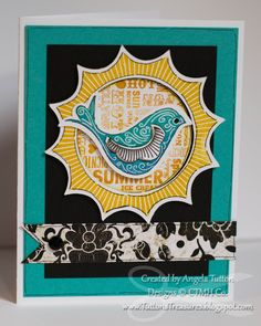 Tutton's Treasures Stamping and Scrapbooking: CTMH April Stamp of the Month Blog Hop: My Sunshine
