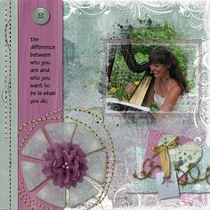As always, Laura has interpreted this month's Pickle Barrel in her own unique style. Beautiful soft papers mixed with newspaper grunge and unusual elements, stitches, overlays and wonderful word art! News Flash from Designs by Laura Burger. Check it out here: https://www.pickleberrypop.com/shop/product.php?productid=49217&page=1
