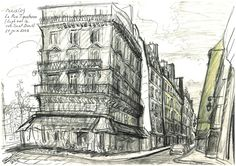 Paris La Rue Tiquetonne - Yann Le Houelleur