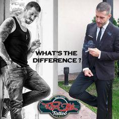 tattooed / inked vs elegance