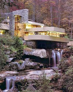 1000 images about falling waters house on pinterest for Casa sulla cascata frank lloyd wright