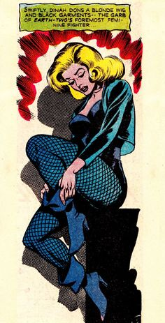 Black Canary by Dick Dillin and Sid Greene