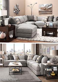 Sectionals like this are great for big families to relax! Overstuffed, reversible cushions feature gel-infused memory foam for plush seating, while an array of adjustable back pillows can be arranged however you see fit. Plus, with multiple sectional configurations to choose from, you can enjoy complete customization for your family and guests.