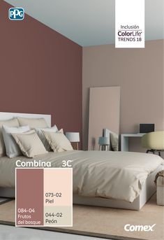 Discover recipes, home ideas, style inspiration and other ideas to try. Best Bedroom Colors, Bedroom Paint Colors, Bedroom Color Schemes, Paint Colors For Living Room, Interior House Colors, Room Interior, Interior Design Living Room, Bedroom Closet Design, Home Decor Bedroom