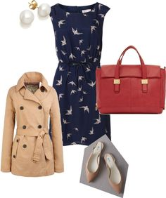 """""""Spring Workwear or Smart Lunch"""" by plaindweller ❤ liked on Polyvore"""