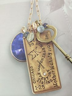 Sobella Fine Jewelry has beautiful custom necklaces available in store now! #ShopLafayette #Personalized