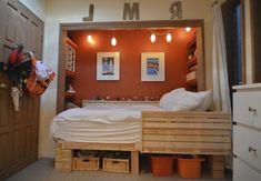 31 idées déco chambre garçon - idées-déco- chambre-ado-garçon-orange-palette-