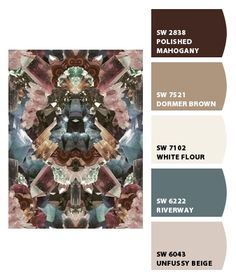 Paint colors by Sherwin-Williams: colors inspired from images you upload yourself
