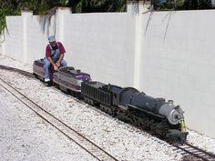 NAPLES TRAIN MUSEUM: Outdoor Train Attraction