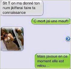 Quand les mecs essaient de draguer par SMS, c'est pitoyable !!