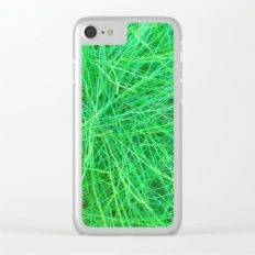 Shop clear-cases, for iPhone X, iPhone iPhone 7 & iPhone 6 models, featuring brilliant patterns and designs on frosted, transparent shells - created by Juliana Kroscen. Iphone 8, Iphone Cases, Green Grass, Nature, Pattern, Model, I Phone Cases, The Great Outdoors, Patterns
