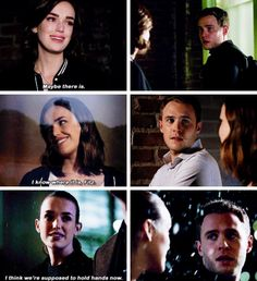 These were all moments that Jemma took the next step in their relationship and he just stared at her in awe.