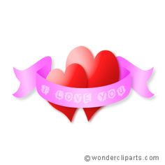 I Love You Facebook Picture Comment Heart Graphic