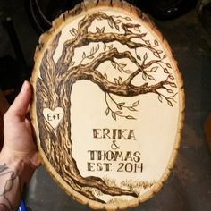 Made to order custom pyrography / wood by PortRichmondOutpost