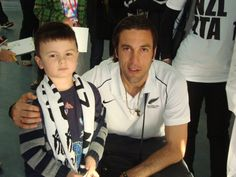 All Whites Fan my son Stefano with New Zealand All Whites champ Ivan Vicelich :)