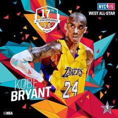 Kobe Bryant - 2015 NBA All-Star