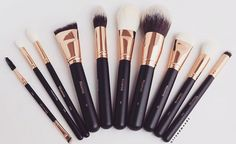 Morphe Rose Gold Brush Set
