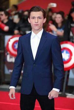 Tom Holland at the European Premiere of Captain America Civil War April 26, 2016