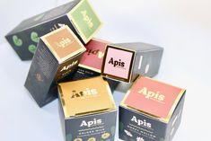 Packaging design for eco-friendly herbal skin care brand - colorful, gold foil, box design, jewel tones, retro, floral, botanical, herbalist, bold, feminine