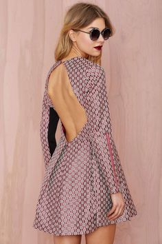 Nasty Gal Really Got Me Dress - Jacquard | Shop Clothes at Nasty Gal