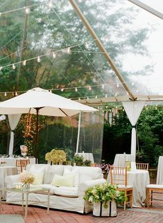 This great outdoor tent with pergola lights allows for events to be hosted year around at the Decatur House on Lafayette Square in Washington DC.
