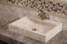 Bathroom | Platin Cream Marble