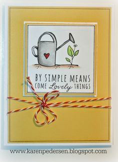 CTMH Rainy Day Stamp set and Watercolor Pencil Cards #inspiration #cards