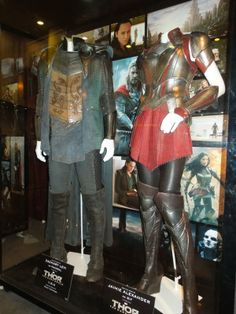 Thor: The Dark World Fandral and Sif movie costumes