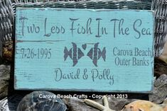 Beach Wedding Sign   Personalized  Custom by ...