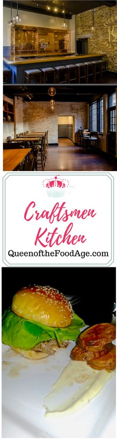 Review of Craftsmen Kitchen & Tap House in Charleston SC by Queen of the Food Age