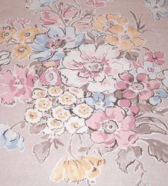 Moda-Le pavot-Floral Nature dessins 100/% Coton Tissu Patchwork Quilting