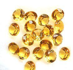 6pcs 20*15MM Beautiful yellow jade Hand Carved Oval  Gemstone Beads no hole