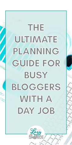 Is it even possible to blog alongside your day job? Are you struggling to find the time and energy just to sit down and blog after work? You're busy, and you only have a few hours to work with each night - so you need a schedule that is simple, flexible, and effective! Steal my planning system to find your focus, establish priorities, and create a schedule that changes as your day does!