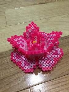 Perler Beads Flower - Flowers Ideas For Review