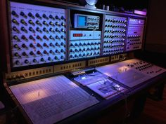 MATRIXSYNTH: EMS Synthi Night Pics with SYNTHI 100
