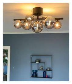Molekyl plafond Røykfarget Ceiling Lights, Lighting, Home Decor, Lily, Ceiling, Modern, Decoration Home, Room Decor, Lights