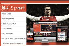 SJ eSport - K2 responsive template by YouTech on @creativemarket