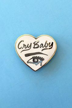 Cry Baby Heart Pin