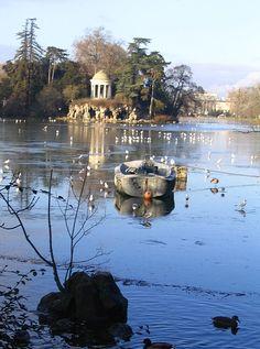 Bois de Vincennes, Lac Daumesnil, Paris XII