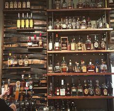 America's 80 Best Bourbon Bars Bourbon Bar, Whisky Bar, Wine Cellar Racks, Whiskey Room, Game Room Bar, House Cladding, Best Bourbons, Coffee Shop Bar, Home Bar Designs
