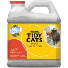 Tidy Cats Scoop 24/7 Performance - 20 lb * Learn more by visiting the image link. (This is an affiliate link and I receive a commission for the sales)