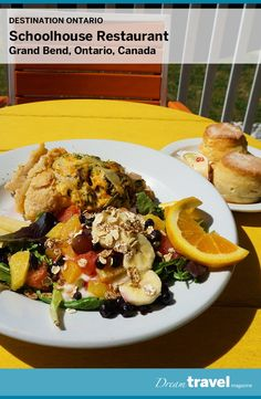 The Schoolhouse Restaurant Grand Bend features a menu of fresh homemade eats. Best for breakfast or brunch this restaurant is popular with the locals and nearby theatre goers. Ontario, Theatre, Homeschool, Brunch, Menu, Restaurant, Homemade, Fresh, Popular