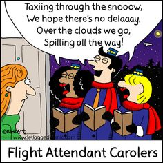 Jetlagged Comic is a cartoon for flight crews. Written and drawn from the perspective of a flight attendant, the gags poke harmless fun at the otherwise daunting and often confusing travel industry (most of us stews still don't quite … Continue reading → #aviationhumorfunny