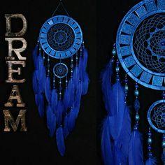 Dreamcatcher blue Dreamcatcher mosaic wall native american