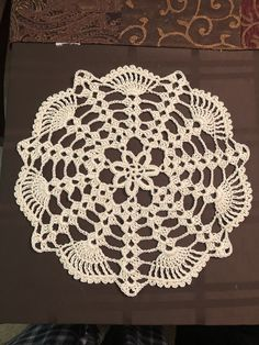 Crocheted doily Pattern by creative grandma