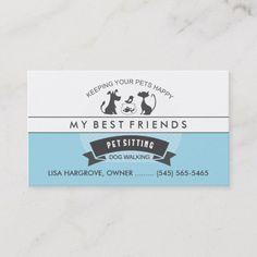 275 Best Pet Care Business Cards Images