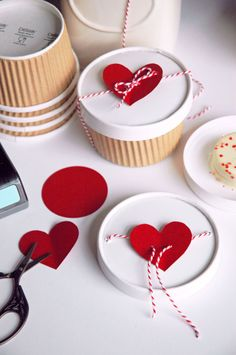 Adorable Treat Packaging :: Valentine's Day Ideas | The TomKat Studio