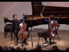 The last movement from Jean Baptiste Barrière's Cello Sonata in G Major featuring Gautier Capuçon and Nathan Chan. I had the great pleasure of participating ...